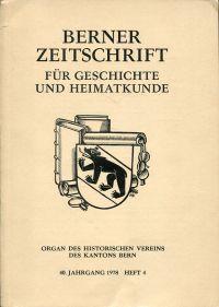 450 Jahre Berner Hohe Schule, 1528-1978.