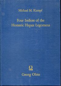 Four indices of the Homeric hapax legomena. Together with statistical data.