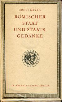 Römischer Staat und Staatsgedanke.