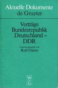 Verträge Bundesrepublik Deutschland-DDR.