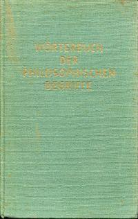 Wörterbuch der philosophischen Begriffe.