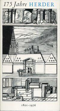 175 Jahre Herder 1801-1976. Kleines Alphabet einer Verlagsarbeit.