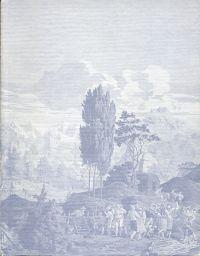 Schweizer Landschaftstapeten des frühen 19. Jahrhunderts.