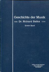 Allgemeine Geschichte der Musik.