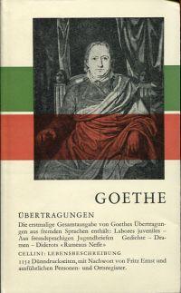 Werke, Briefe und Gespräche, Band 15: Übertragungen.