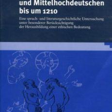 """""""Schame"""" im Alt- und Mittelhochdeutschen bis um 1210. Eine sprach- und literaturgeschichtliche Untersuchung unter besonderer Berücksichtigung der Herausbildung einer ethischen Bedeutung."""
