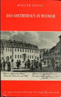 Das Goethehaus in Weimar.