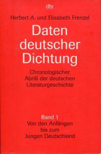 Von den Anfängen bis zum Jungen Deutschland.