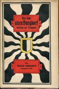 Aus dem alten Burgdorf. Beiträge zur Ortskunde.