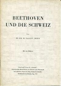 Beethoven und die Schweiz.
