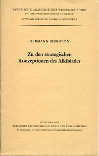 Zu den strategischen Konzeptionen des Alkibiades.
