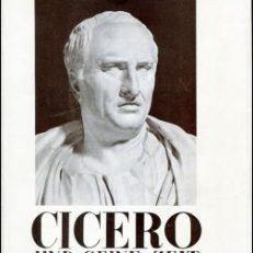Cicero und seine Zeit.