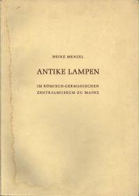 Antike Lampen im Römisch-Germanischen Zentralmuseum zu Mainz.