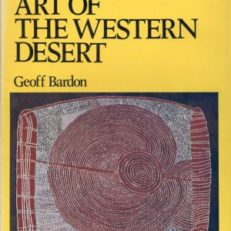 Aboriginal art of the western desert.