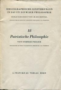 Patristische Philosophie.