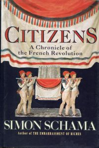 Citizens. A chronicle of the French Revolution.