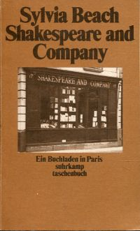 Shakespeare and company. Ein Buchladen in Paris.