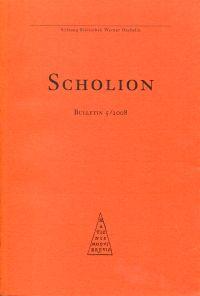 Scholion. Bulletin 5/2008.