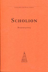 Scholion. Bulletin 9/2015.