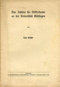 Das Institut für Völkerkunde an der Universität Göttingen.