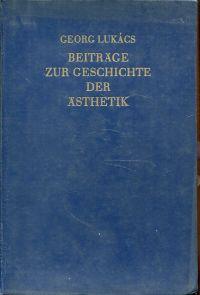 Beiträge zur Geschichte der Ästhetik.