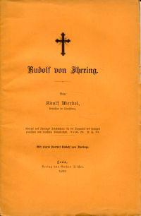 Rudolf von Ihering.