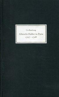 Albrecht Haller in Paris. 1727-1728.