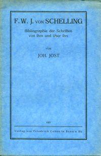 F. W. J. von Schelling. Bibliographie der Schriften von ihm und über ihn.