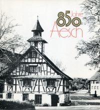 850 Jahre Aesch.