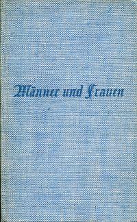 Männer und Frauen im geistigen Werden des deutschen Volkes.