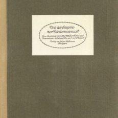 Von der Empire- zur Biedermeierzeit. Eine Sammlung charakteristischer Möbel und Innenräume. Vorwort von Joseph August Lux.