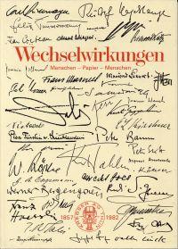 Wechselwirkungen. Menschen - Papier - Menschen. Zum 125jährigen Bestehen unserer Firma. Krebser AG Thun 1857 - 1982.
