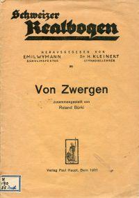 Von Zwergen.