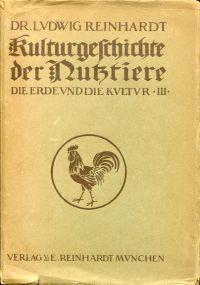 Kulturgeschichte der Nutztiere.