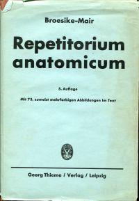 Repetitorium anatomicum.