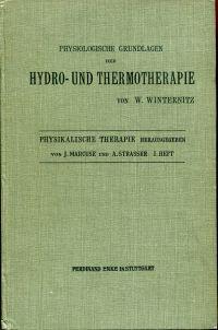 Physiologische Grundlagen der Hydro- und Thermotherapie.