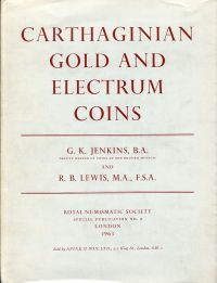 Carthaginian gold and electrum coins.