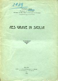 Aes grave in Sicilia.