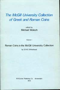 The McGill University Collection of Greek and Roman Coins.