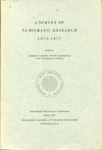 A Survey of Numismatic Research, 1972-1977.