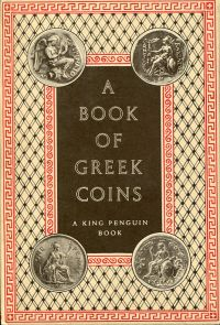 A book of Greek coins.