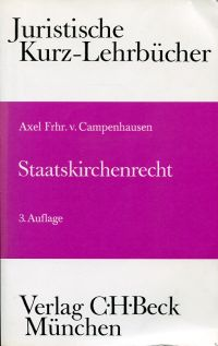 Staatskirchenrecht. Ein Studienbuch.
