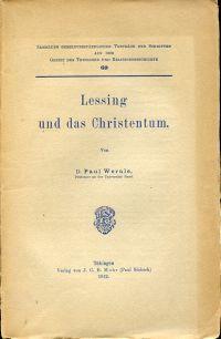 Lessing und das Christentum.