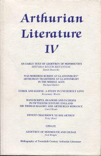 Arthurian Literature, Volume IV.
