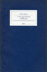 Louis und Eduard Hallberger. Die Gründer der Deutschen Verlags-Anstalt.