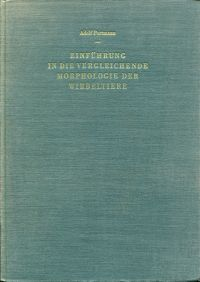 Einführung in die vergleichende Morphologie der Wirbeltiere.