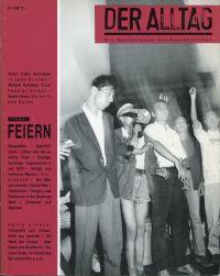 Der Alltag - Sensationsblatt des Gewöhnlichen, 3/1989. Thema: Feiern.