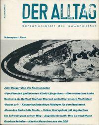 Der Alltag - Sensationsblatt des Gewöhnlichen, 3/1986. Thema: Tiere.