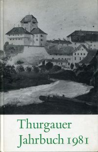 Thurgauer Jahrbuch 1981.