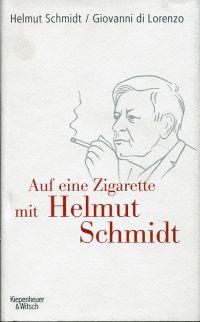 Auf eine Zigarette mit Helmut Schmidt.